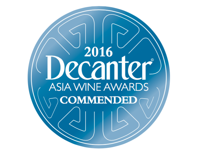 Decanter Asia Awards 2016 - Commended
