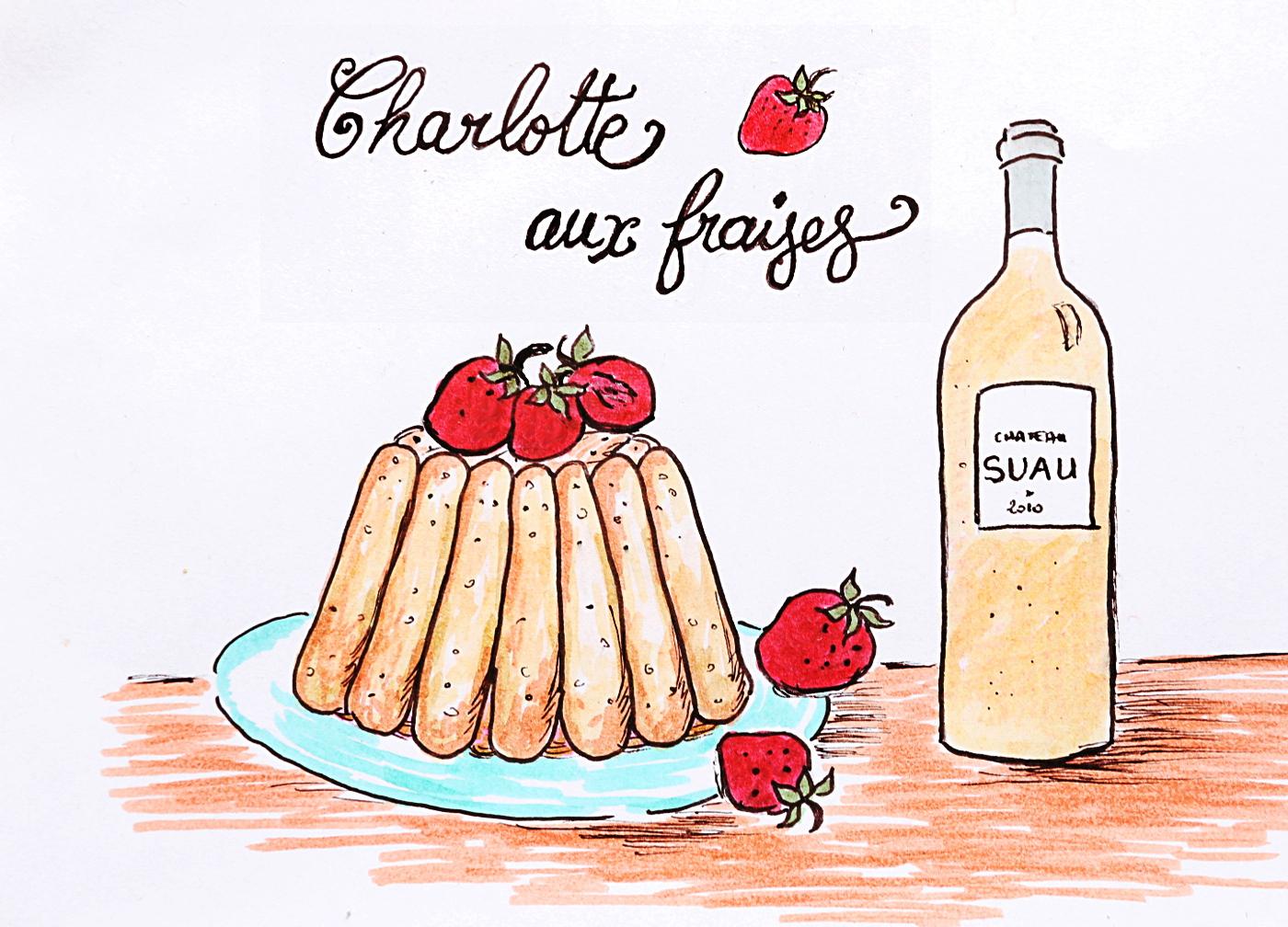Recette charlotte aux fraises