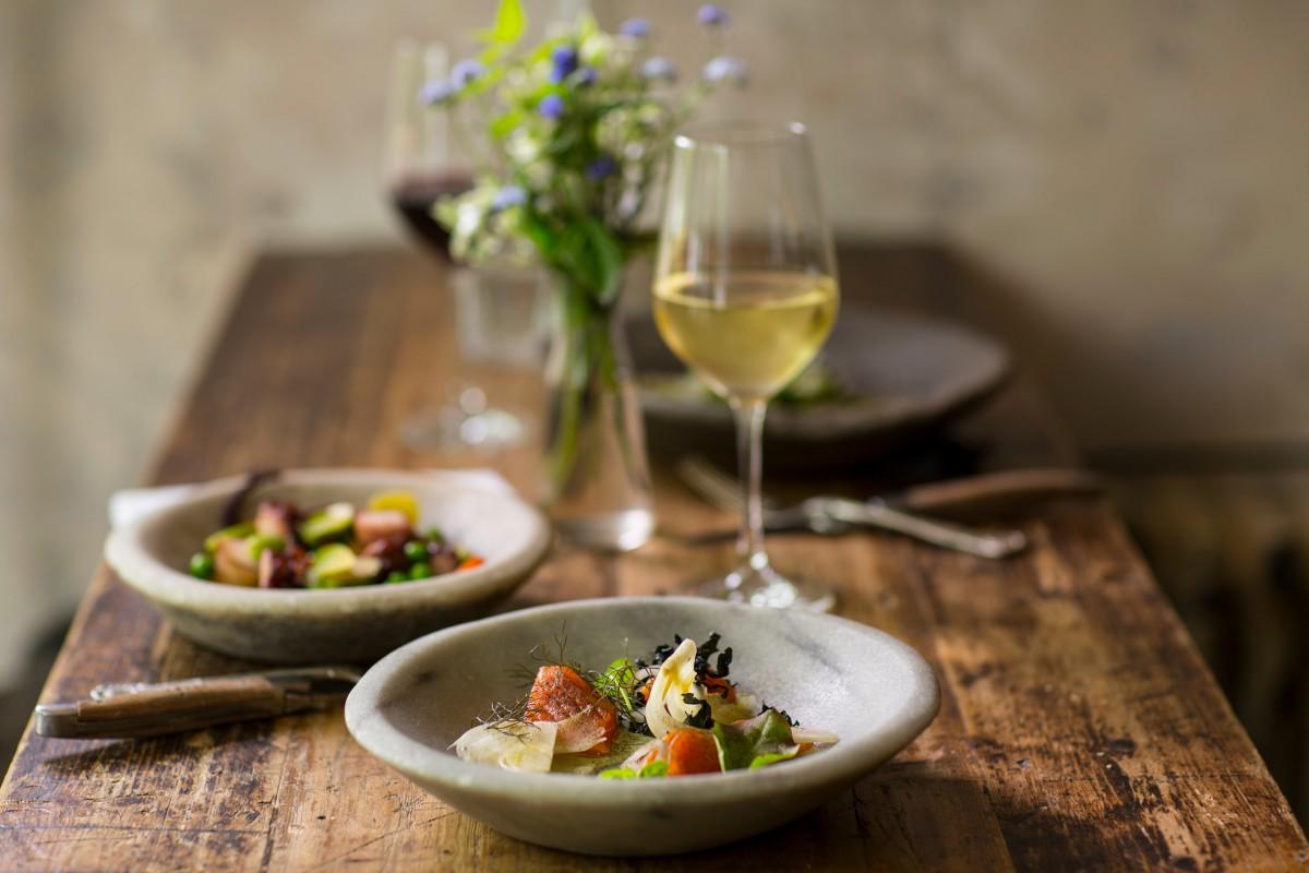 vin blanc repas ordre degustation