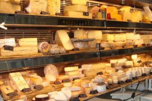 Produits bio: les fromages