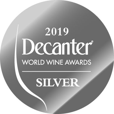Silver medal - Decanter World Wine Awards 2019