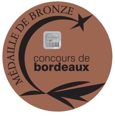 Bronce medaille - concours de bordeaux